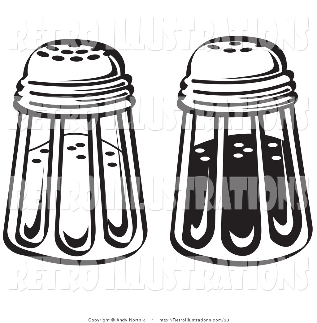 Retro Salt Pepper Shakers a Salt And Pepper Shakers